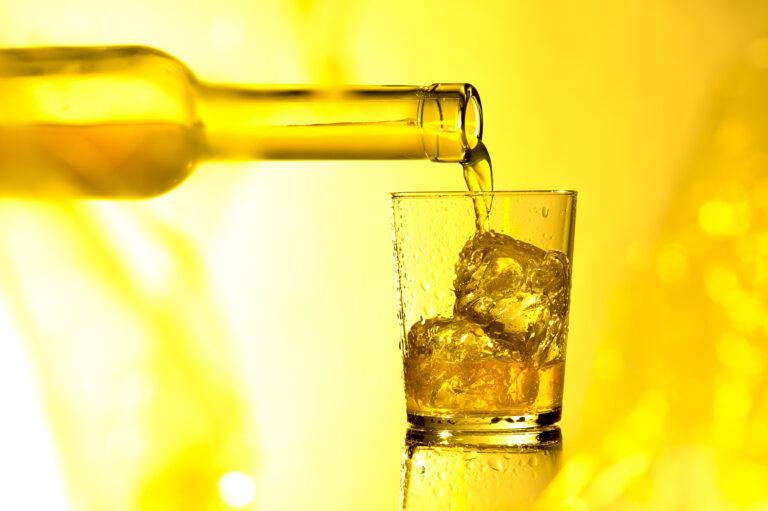 Drink im Sommerlicht