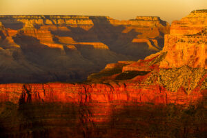 Grand Canyon in der Abendsonne