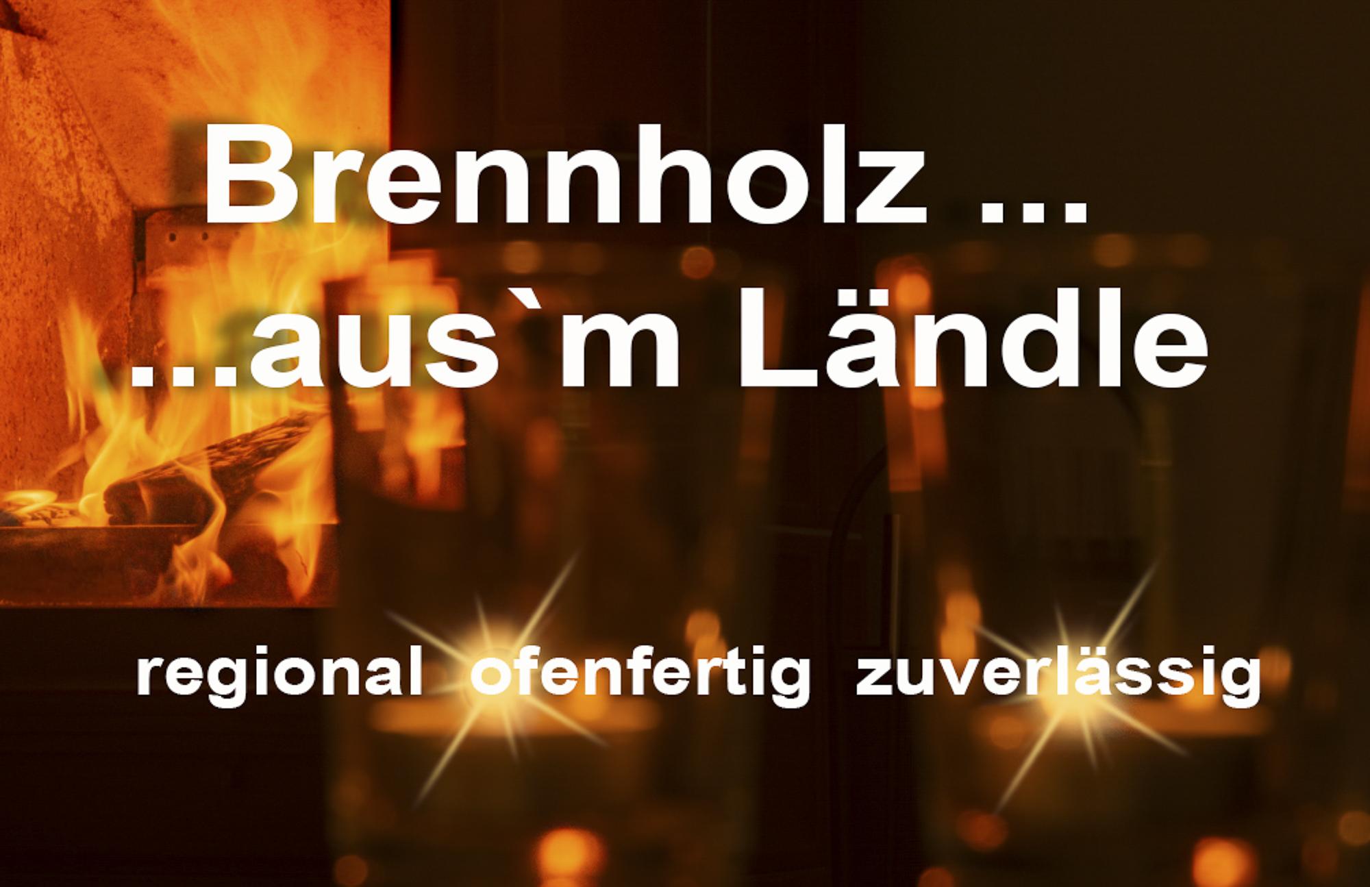 Werbefotografie - Brennholzverkauf